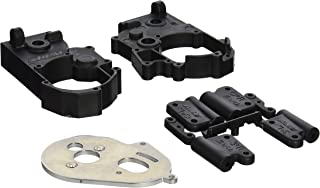 RPM Hybrid Gearbox Housing and Rear Mounts for Traxxas 2WD Electric, Black