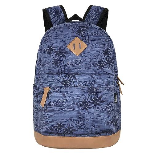 SAMGOO unisexo ligero lona Mochila Canvas Backpacks Bolso del ordenador portátil Multifunción paquete bolso para viajar colegio excursionismo
