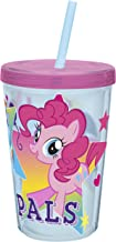 Zak Designs My Little Pony 13 oz. Insulated Tumbler With Straw, TV Series
