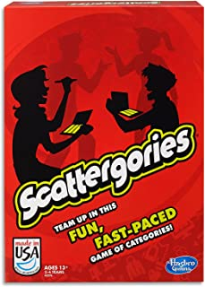 Scattergories - 2 to 4 Teams - Family Word Games - Ages 13+