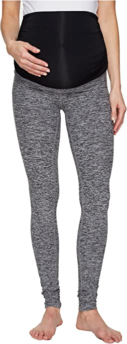 Fold Down Maternity Long Leggings