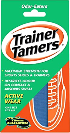 Odor-Eaters Trainer Tamers, Odour-Destroying, Super strength insoles, for active wear