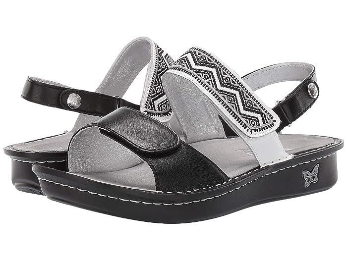 Alegria  Verona (Black) Womens Sandals
