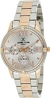 Daniel Klein Exclusive Ladies - Silver Dial Multicolor Band Watch - DK.1.12566-2