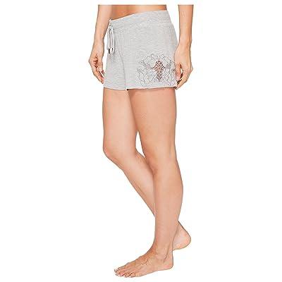 P.J. Salvage Laser Lounge PJ Shorts (Heather Grey) Women