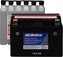 ACDelco ATX12ABS Specialty AGM Powersports JIS 12A-BS Battery