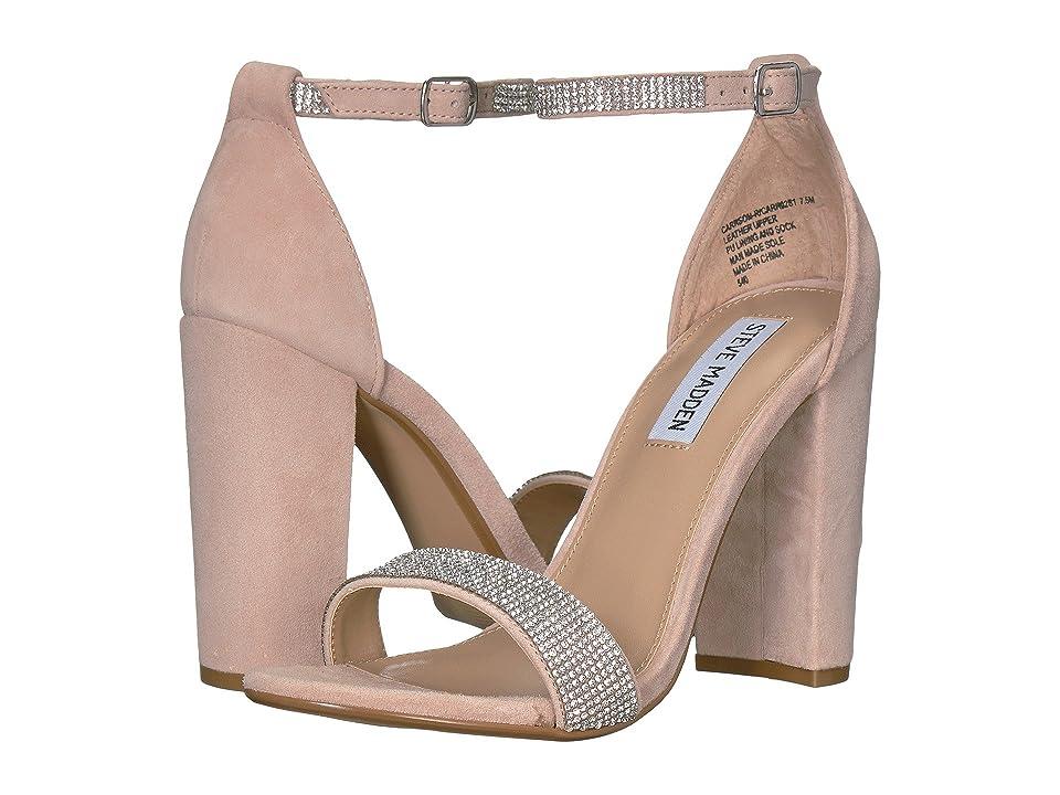 Steve Madden Carrson-R Heeled Sandal (Rhinestone) High Heels