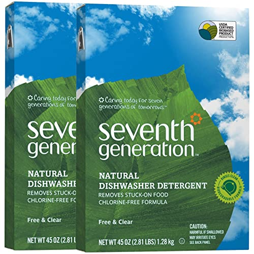Seventh Generation Auto Dish Powder - 45 oz - 2 pk