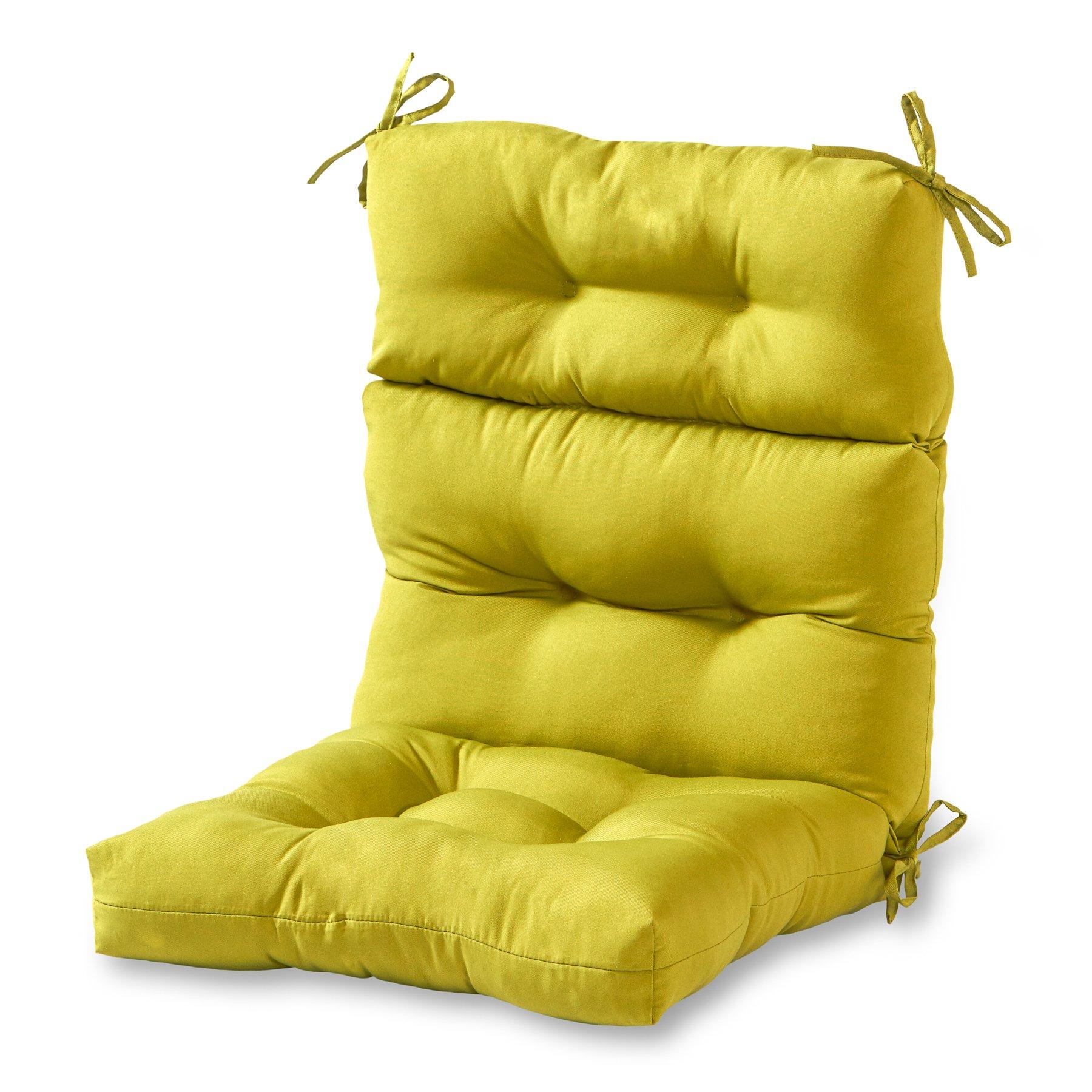 Amazon.com : QILLOWAY Outdoor Seat/Back Chair Cushion ...