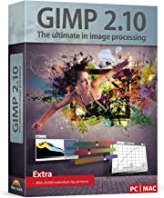 GIMP 2.10 - Graphic Design & Image Editing Software - this version includes additional resources - 20,000 clip arts, tech ...