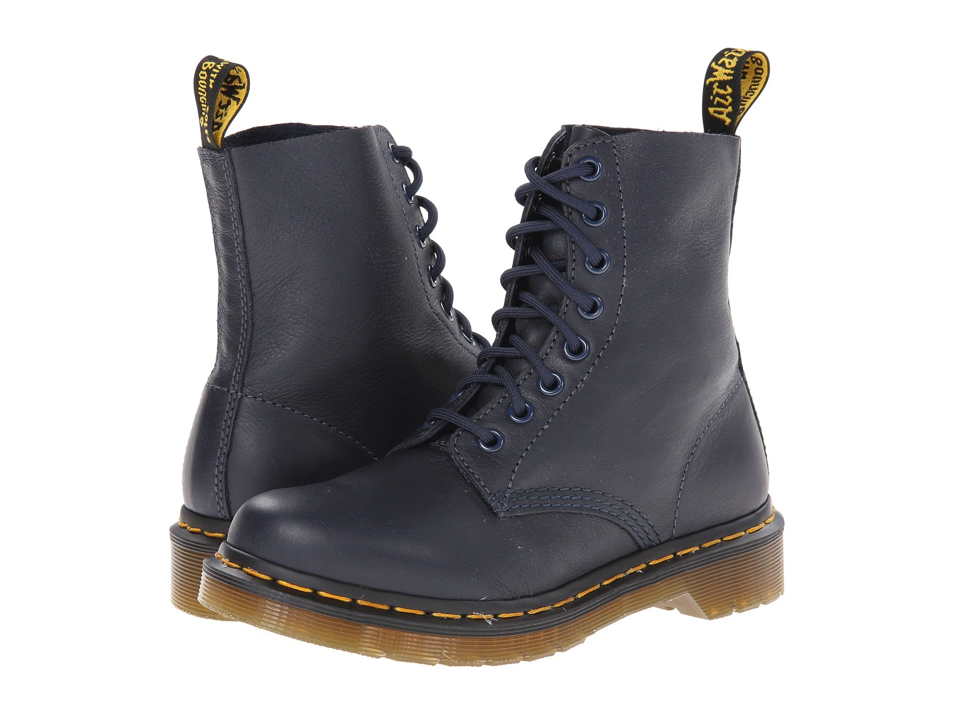 Pascal 8-Eye Boot, Dress Blue Virginia