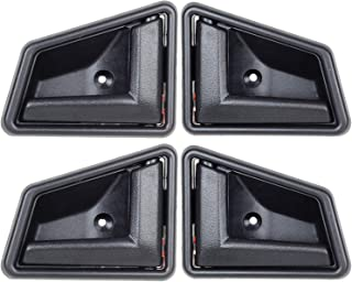 1989-1998 Suzuki Sidekick Black Interior Inside Door Handle Front Right Left Rear Set 4pcs