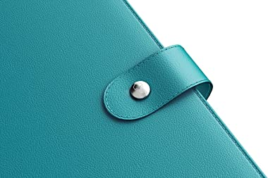 LUX Productivity PRO A5 Planner – Best Undated Diary Task Organizer with Daily Schedule & Reflection Journal - (Turquoise