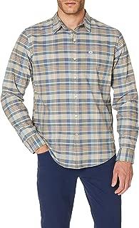 Dockers Erkek Günlük Gömlek Standard Washed Poplin Slim