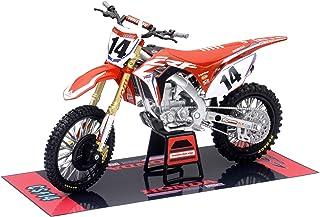 New Ray 57933 1:12 Honda CRF450R HRC Racing Cole Seely, Orange/Weiß/Schwarz/Blau