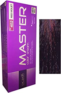 Hair Colour Permanent Hair Cream Dye Red Violet by Dcash Master