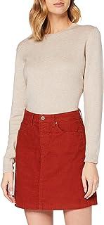 Lee A Line Zip Skirt Falda para Mujer