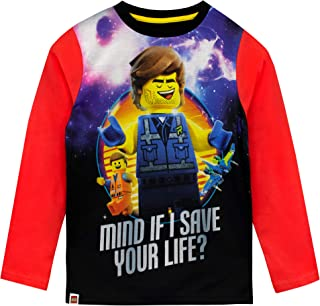 LEGO Movie Boys Long Sleeved Top Red Size 6