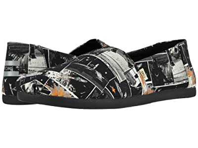 TOMS Star Warstm Alpargata 3.0 (Black Star Wars Darth Print) Men