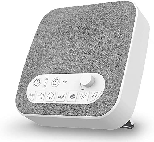 2021 White Noise Machine for Sleeping, Aurola Sleep Sound wholesale Machine with Non-Looping Soothing Sounds online for Baby Adult Traveler, Portable for Home Office Travel. online