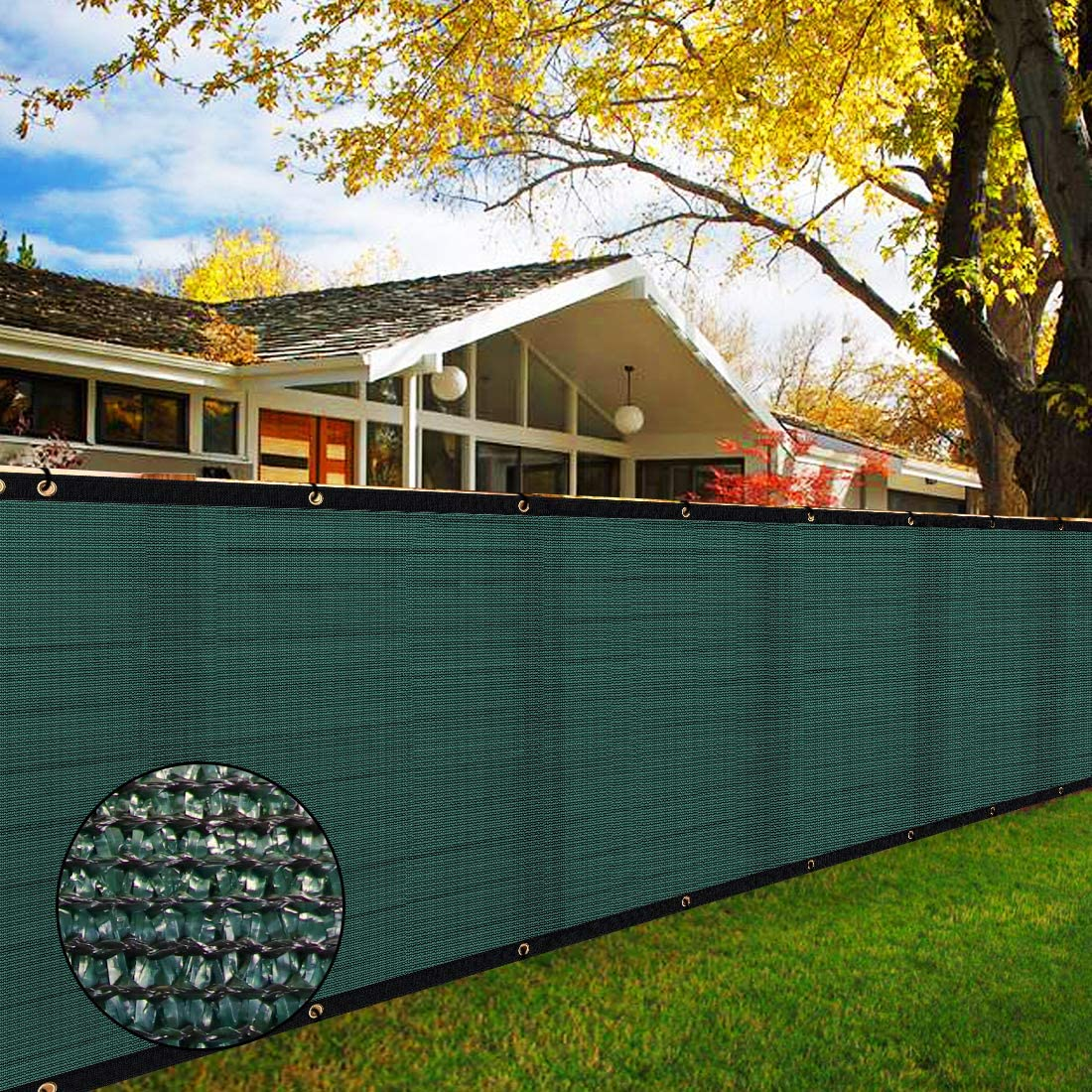6' x 50' Heavy Miami Mall Duty Privacy Screen Mes Challenge the lowest price of Japan ☆ Blockage Fence Green 90%