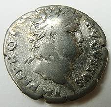 IT Nero - Roman Emperor: 54-68 A.D. Silver Denarius - Hygieia Salus Health Goddess Coin Very Good