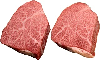 【Amazon.co.jp限定】 特選松阪牛専門店やまと A5等級 黒毛和牛 とも三角(100g 2枚)国産牛肉 ステーキ ローストビーフにも