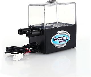Zerone Bomba de refrigeración de Agua para CPU sin Ruido, 12 V, 4 W, refrigerador líquido para PC y CPU