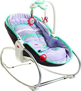 TINY LOVE Baby 3 in 1 Rocker Napper, Turquoise/Grey