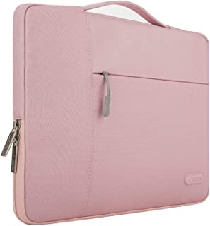 MOSISO Laptop Sleeve Compatible with 13-13.3 inch MacBook Air, MacBook Pro, Notebook Computer, Polyester Multifunctional B...