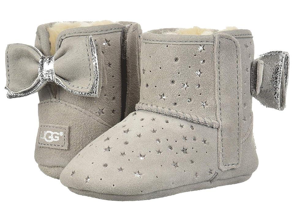 UGG Kids Jesse Bow II Stargirl Bootie (Infant/Toddler) (Seal) Girls Shoes