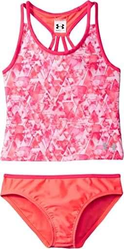 Under Armour Kids Aqua Geo Tankini (Big Kids)