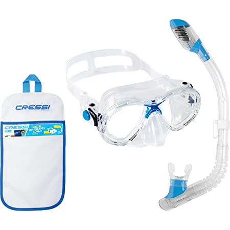 clear//blue Cressi Mini Dry Junior