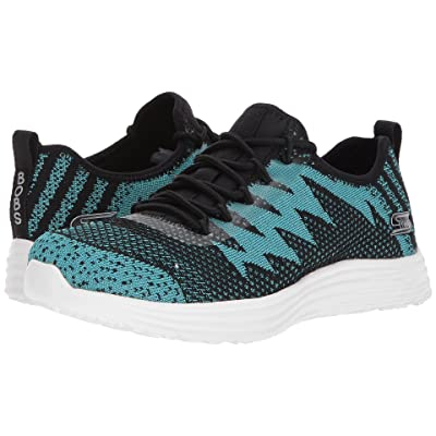 BOBS from SKECHERS Bobs Swift Zap Zing (Black/Turquoise) Women