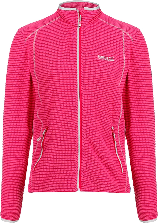 Regatta Damen Womens Willett Full Zip Lightweight Stretch Grid Fleece
