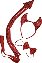 Best devil horns and tail Reviews