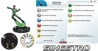 DC Heroclix Green Lantern Target Gravity Feed Sinestro