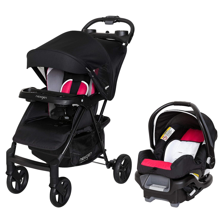 Nexgen Ride N' Roll Travel System Electric (TS23C99N) Pink