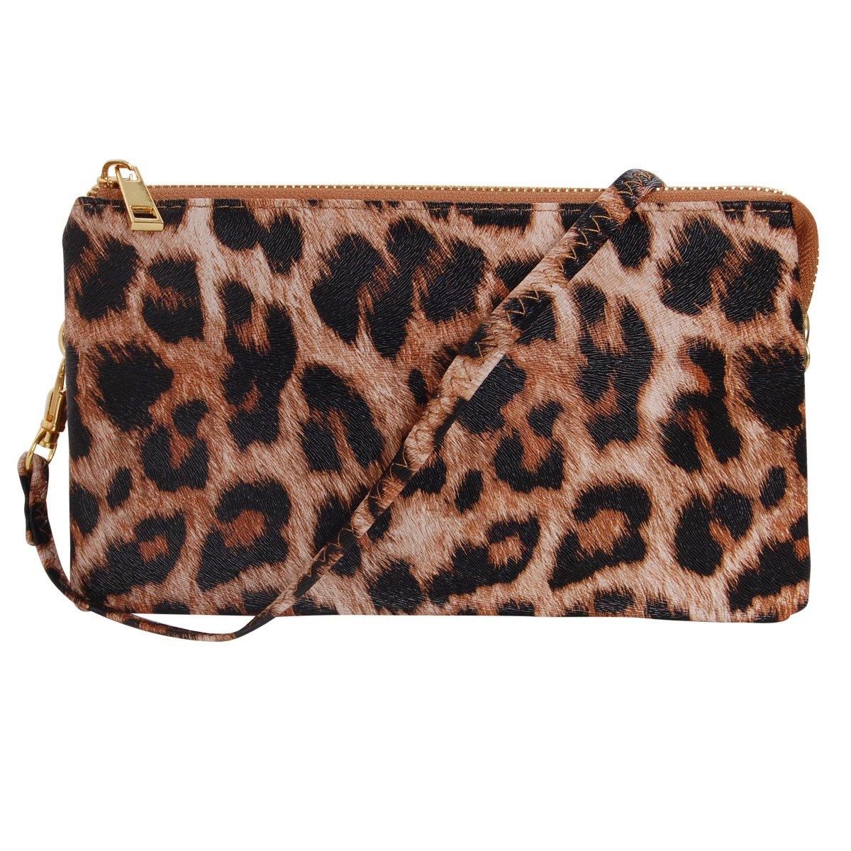 leopard crossbody amazon com rh amazon com
