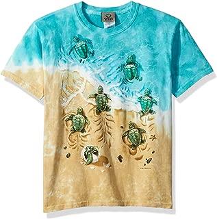 Liquid Blue Kids' Nature Aquatic Turtle Beach Short Sleeve T-Shirt