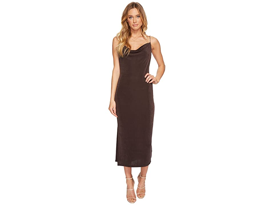 ASTR the Label Ivana Dress (Coal) Women