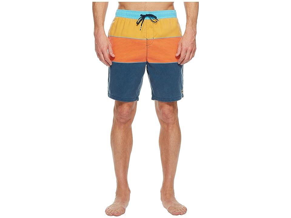 Billabong Tribong Layback Boardshorts (Orange) Men's Swimwear