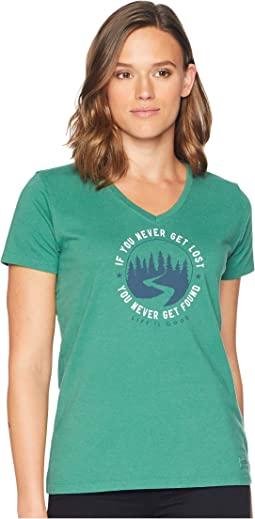 Get Lost, Get Found Crusher Vee T-Shirt