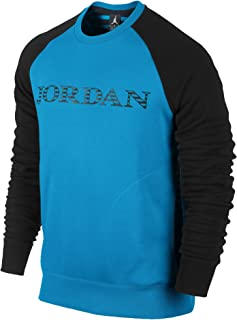 b746a9f543bc75 Jordan Nike Men s Air Retro 10 Accomplished Crew Sweater XX-Large Vivid Blue
