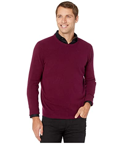 Polo Ralph Lauren Washable Merino Wool Sweater (Classic Burgundy Heather) Men