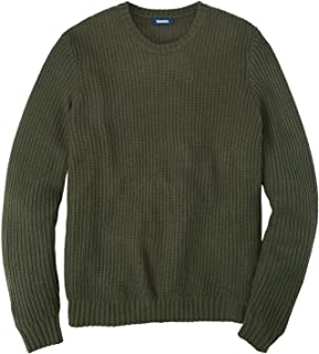 Men's Big & Tall Knit Crewneck Sweater