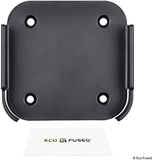 Eco-Fused Wall Mount Compatible with Apple Airport Express [2nd Generation] and Apple TV [2nd + 3rd Generation] - Holder B...