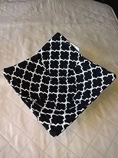 Black & White Trellis Microwave Bowl Cozy