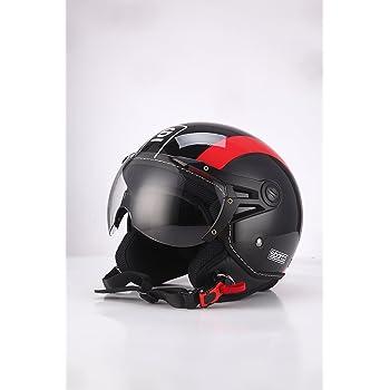 Sparco Riders Casco Moto Demi Jet talla L blanco//negro