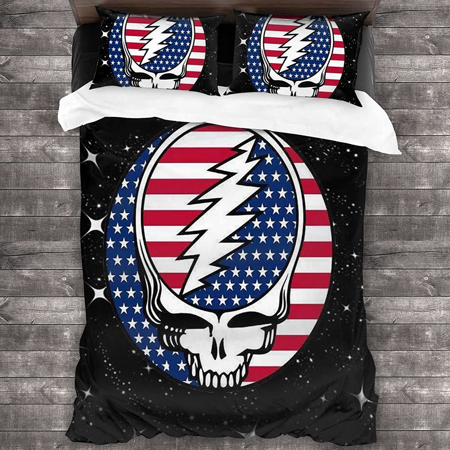 Bedding Sheet Set Steal Your Max NEW 75% OFF American Flag Se Soft Bed 3-Pieces
